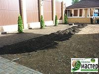 Подготовка земли под укладку рулонного газона